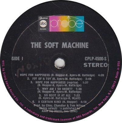 SOFT MACHINE 01