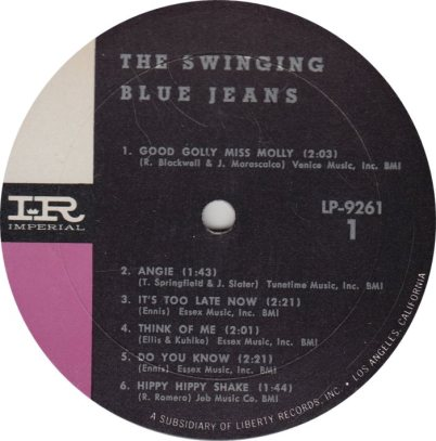 SWINGING BLUE JEANS 01