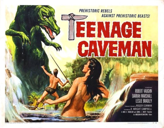 TEENAGE CAVEMAN 58
