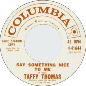 THOMAS TAFFY 60 B