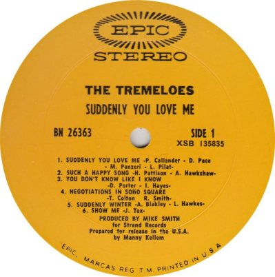 TREMELOES 03
