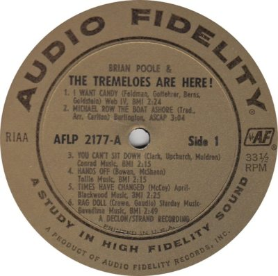 TREMELOES 05