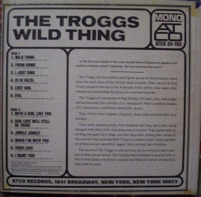 TROGGS 01 B