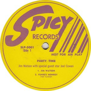 Watson  Cowan Spicy 5001 DJ  - Party Time (1)