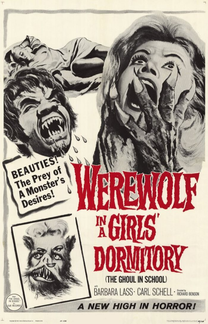 WEREWOLF IN GIRLS DORMITORY 61