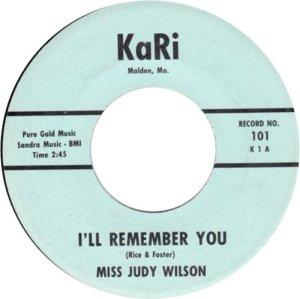 WILSON MISS JUDY 62 A