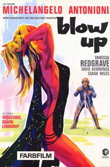 YARDBIRDS - BLOW UP POSTER