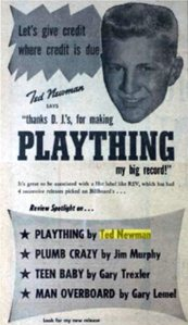 1957-08-15 NEWMAN TED