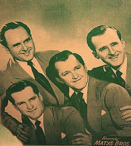 1957-08-28 MATYS BROS PH SANG CRAZY STREET 2ND SONG