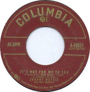 1957-10-09 JOHNNY MATHIS A