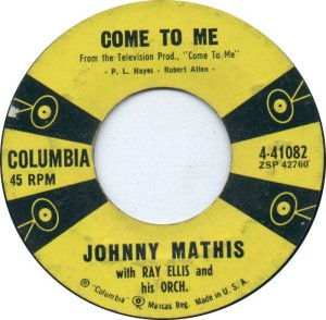 1958-02-10 - JOHNNY MATHIS