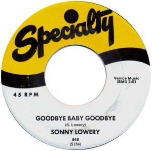 1958-02-27 SONNY LOWERY