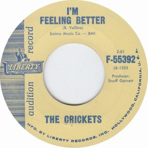 1961 45 - CRICKETS LIBERTY 55392 B
