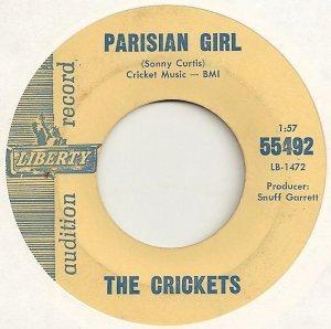 1962-08 - 45 CRICKETS LIBERTY 55492 B