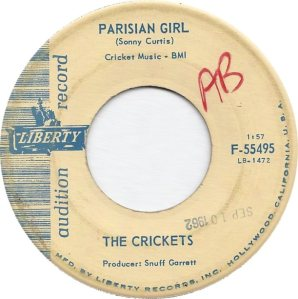 1962-09 45 - CRICKETS LIBERTY 55495 B