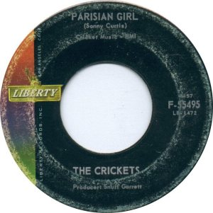 1962-09 45 - CRICKETS LIBERTY 55495 D