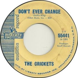 1962 45 - CRICKETS LIBERTY 55441 a