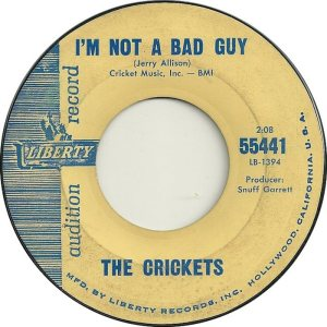 1962 45 - CRICKETS LIBERTY 55441 b