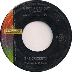 1962 45 - CRICKETS LIBERTY 55441 d