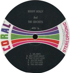 1962 - CORAL LP 57405 C