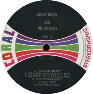 1962 - CORAL LP 57405 D