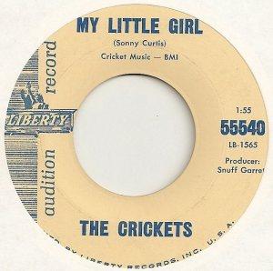 1963-01 45 CRICKETS LIBERTY 55540 A