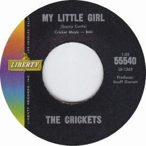 1963-01 45 CRICKETS LIBERTY 55540 B