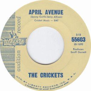 1963-08 - CRICKETS LIBERTY 55603 A