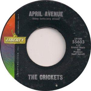1963-08 - CRICKETS LIBERTY 55603 C