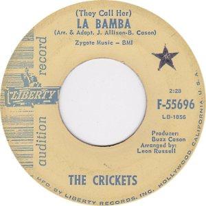 1964-05 45 - CRICKETS LIBERTY 55696 A
