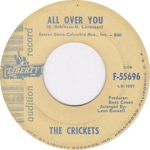 1964-45-02 - CRICKETS LIBERTY 55668 B