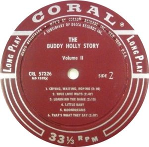1969 - CORAL LP 57326 D