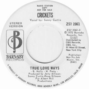 1972-04 45 - CRICKETS BARNABY 2061 A