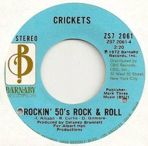 1972-04 45 - CRICKETS BARNABY 2061 D
