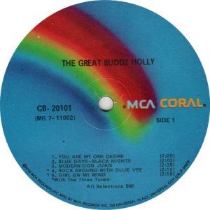 1973 - CORAL LP 20101 C