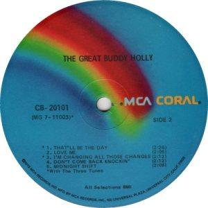 1973 - CORAL LP 20101 D