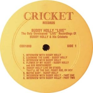 1977 - CRICKET LP 1000 C