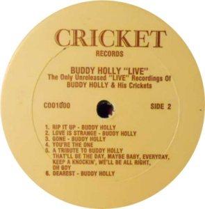 1977 - CRICKET LP 1000 D