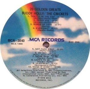 1978 - MCA LP 3040 C