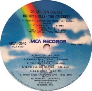 1978 - MCA LP 3040 D