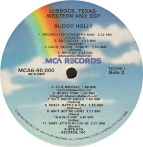 1981 - MCA LP 80000 F