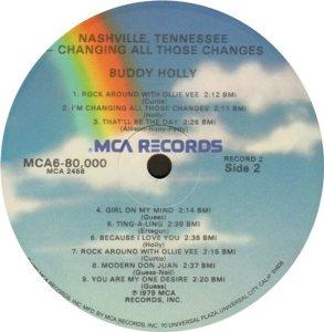 1981 - MCA LP 80000 J