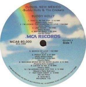 1981 - MCA LP 80000 M