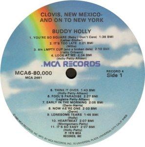 1981 - MCA LP 80000 Q