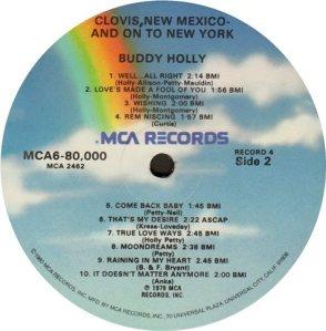 1981 - MCA LP 80000 R
