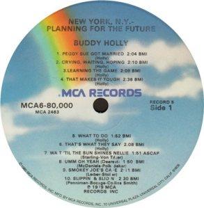 1981 - MCA LP 80000 U
