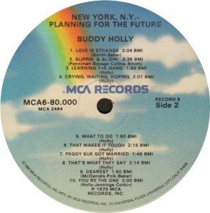 1981 - MCA LP 80000 V