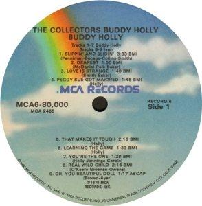 1981 - MCA LP 80000 Y