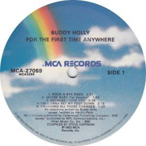 1983 - MCA LP 27059 C
