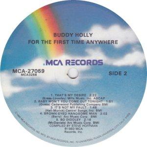 1983 - MCA LP 27059 D